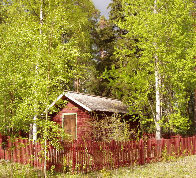 Hauholan maja toimi aikoinaan Lönnrotin kesäpaikkana.