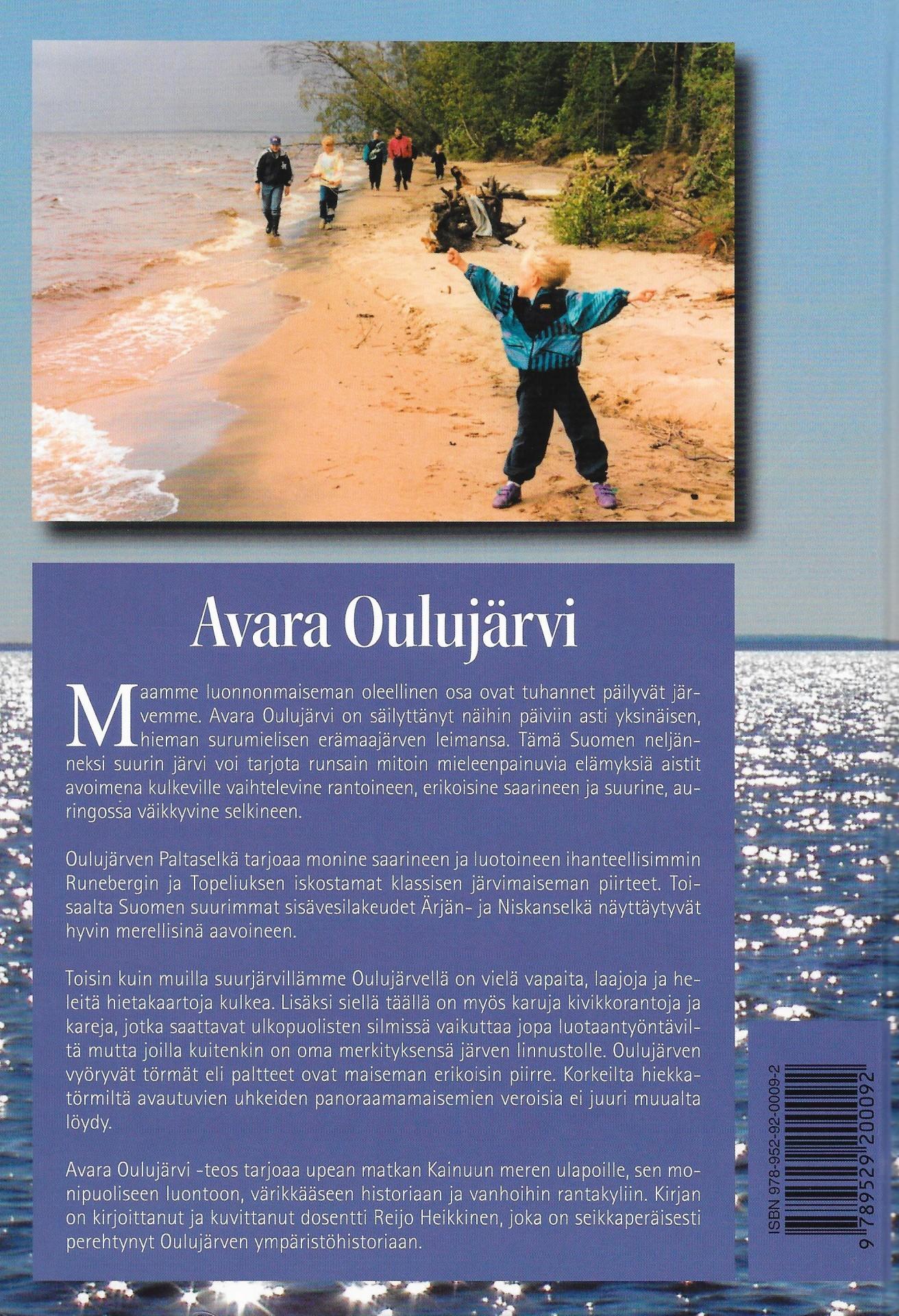 Avara Oulujärvi 2007 takakansi