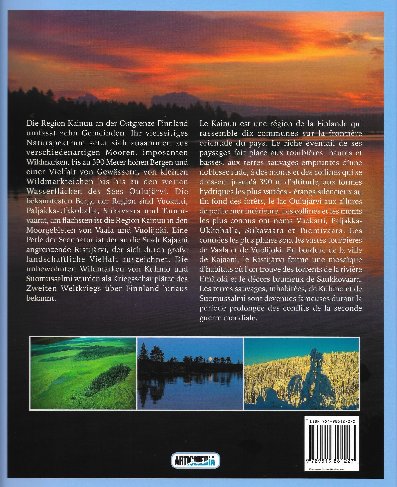 Kainuu - Wälder, Wasser, Wildnis 2003 takakansi