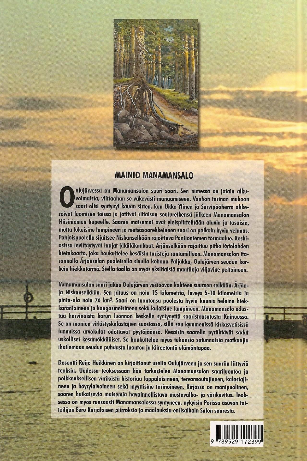 Mainio Manamansalo 2004 takakansi