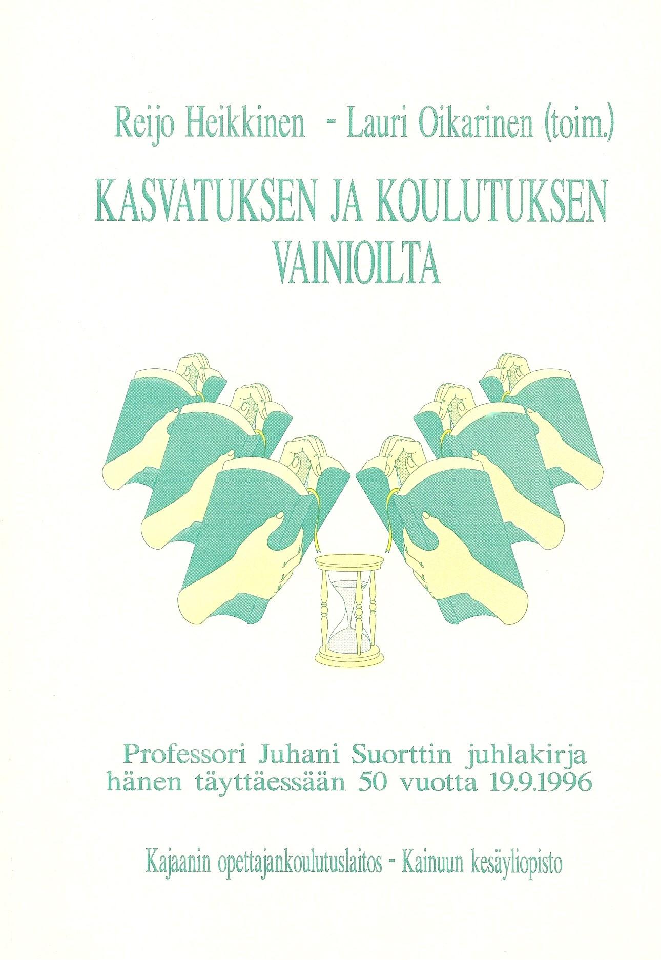 Kasvatuksen ja koulutuksen vainioilta 1996