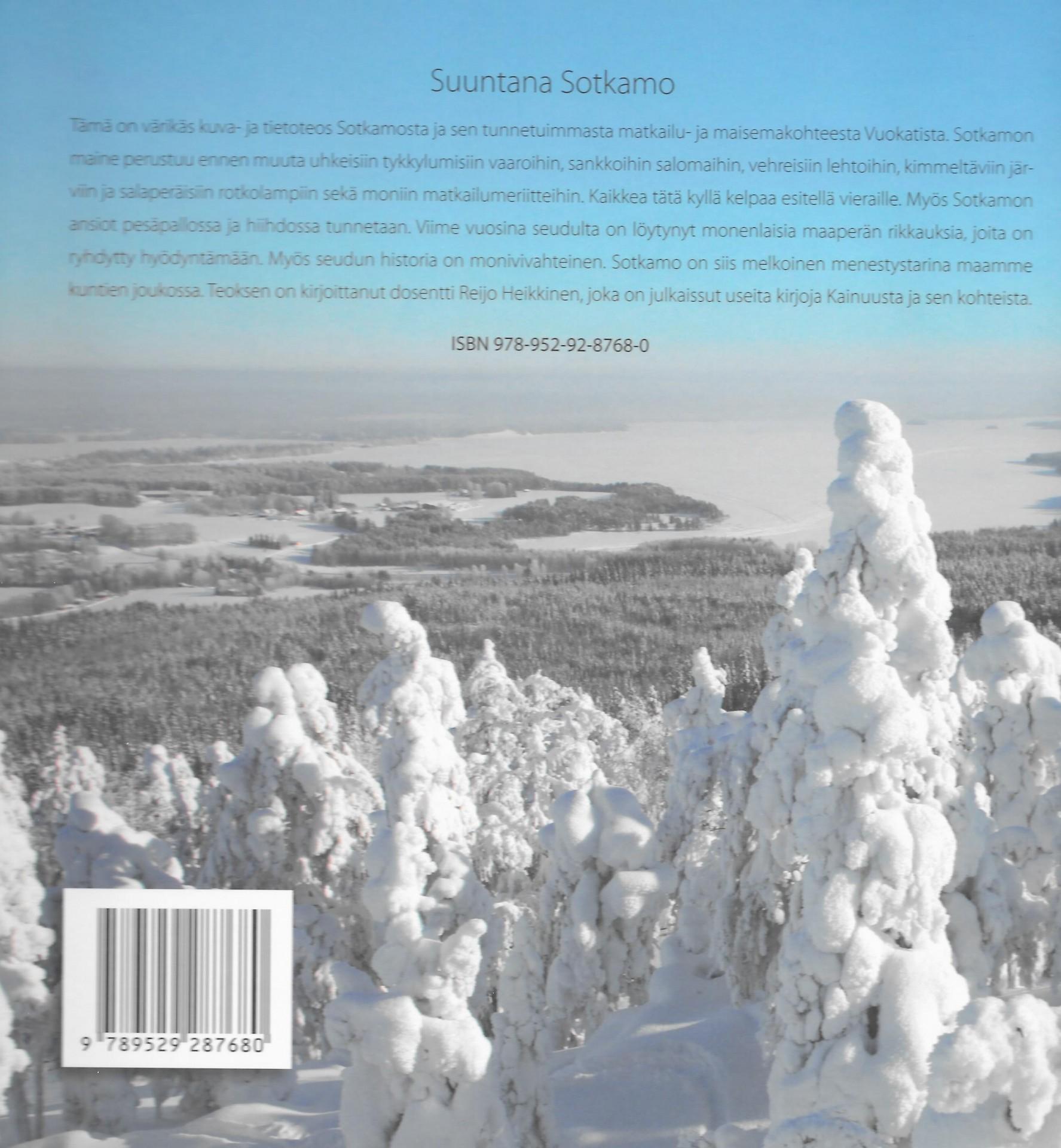 Suuntana Sotkamo 2011 takakansi