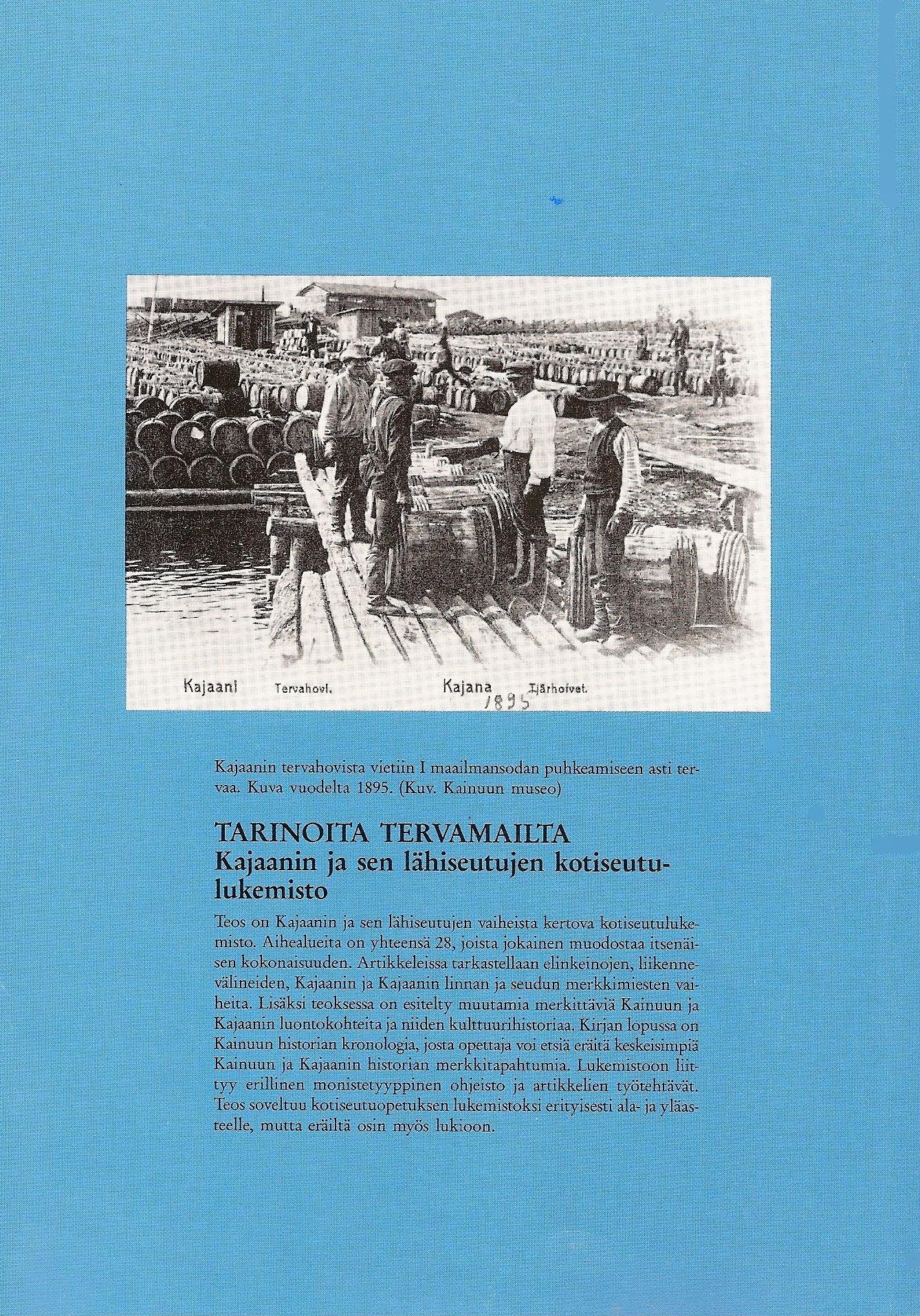 Tarinoita tervamailta 1989 Takakansi