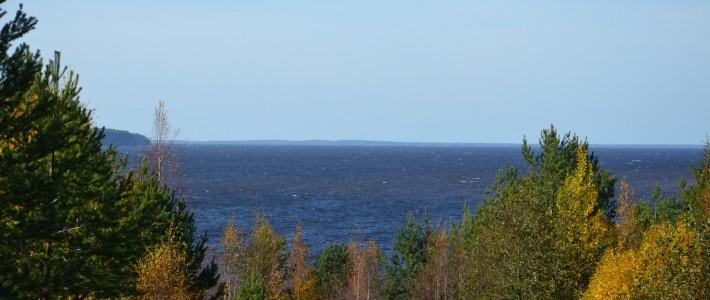 Oulujärven avarat selät ja lukuisat lahdelmat