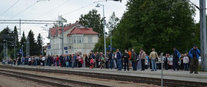 Kajaanin rautatie ja rautatieasema