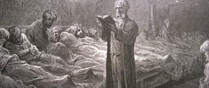 Kolera väestön vitsauksena meillä ja muualla 1800-luvulla