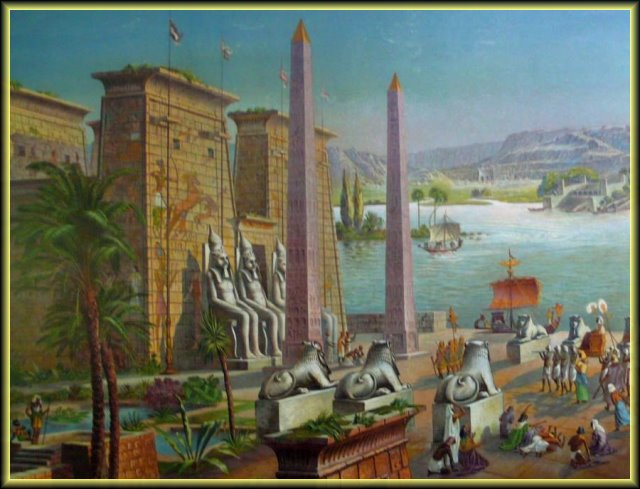 Egyptiläinen temppeli