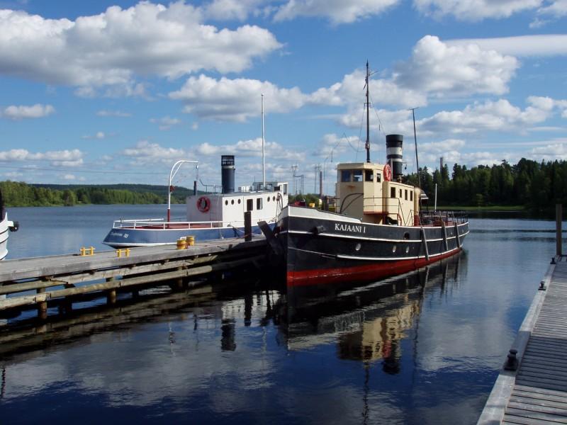 Kajaani I Auralan rannassa elokuussa 2005